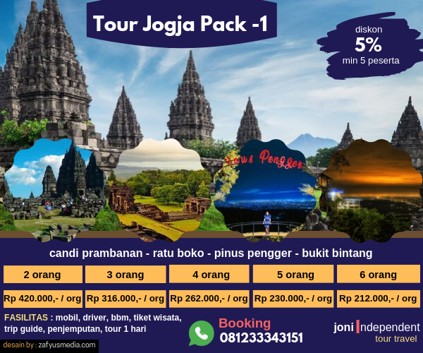 jogja tour pack 1